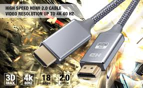 HDMI Cable 3FT - Braided Cord - 4K HDMI 2.0 Ready ... - Amazon.com