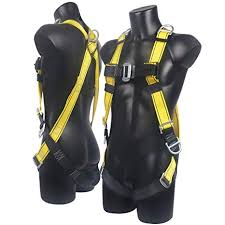 xben 5 d ring roofing fall protection safety harness, full body fall fall protection harness expiration at Fall Protection Harness