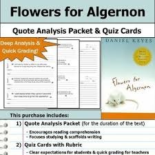 flowers for algernon symbol analysis critical thinking problem  flowers for algernon symbol analysis critical thinking problem solving skills collaboration skills