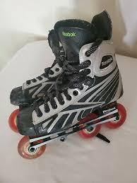 Reebok 4k Pump Inline Hockey Skates Size 8 Senior Mens Rollerblade Rbk Ebay