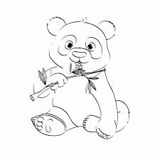 Leuk Voor Kids Pandaberen Kleurplaten Idee Schattige Panda
