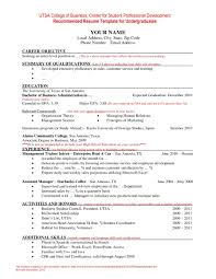 Resume Format 2016 12 Free To Download Word Templates Latest