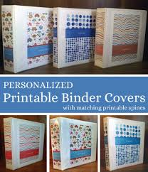 Editable Binder Cover Templates Free Free Binder Cover And Spine Templates Image Gallery With Free Binder