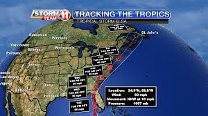 A Hurricane Watch is in effect for ...