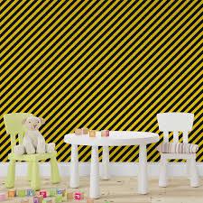 Nosso papel de parede não necessita de cola, uma vez que o mesmo é adesivo. Papel De Parede Adesivo Infantil Listras Pretas E Amarelas Rolo 3m Midia Moderna Loja De Produtos De Comunicacao Visual E Decoracao