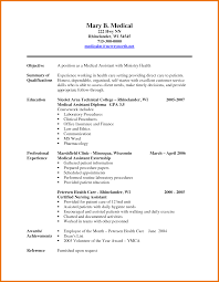 Resume Samples For Medical Assistant Entry Level Mesmerizing Professional Medical Assistant Resume Samples For Your 7