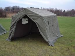 9 x 9 Ex British Army Frame Tent - Unissued