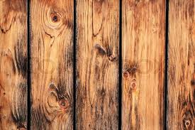 Old Rustic Pine Wood Fence Detail Stock Photo Colourbox