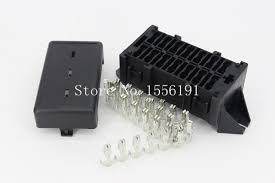 14 way auto fuse box assembly with terminals dustproof fuse box fuse block autozone at Fuse Box Mounts
