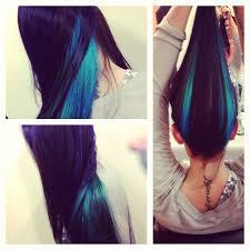 Subtle Blue Highlights Blue Highlight Ideas Hair World Magazine