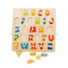 china new s 2018 baby wooden educational puzzles with abc letters w14b099