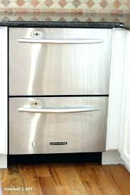 E Drawer Dishwasher Review Photo 1 Of 9 Double Reviews  For