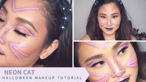 neon cat easy makeup tutorial 2017 aimee haruna