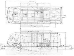 gmcmh drawings gmcmi gmc motorhome dimensions