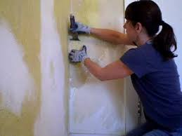 removing painted wallpaper you