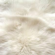 toscana shearling sheepskin rug natural large