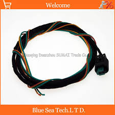 stereo wiring connectors promotion shop for promotional stereo 2pin 1 0mm light blanket atmosphere light wire connector angel wings light plug 3 meter cable for for bmw bmw x1 x3 x5 x6