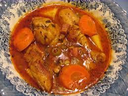 pollo guisado recetas salvadoreñas