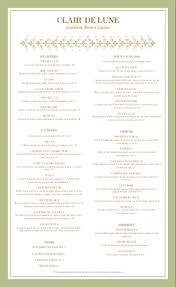Fancy Restaurant Menu Fancy French Menu Design Templates By Musthavemenus