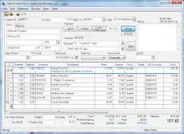 Sales Invoice Entering And Printing A Sales Invoice
