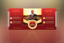 Anniversary Template Pastor Anniversary Template Kit By Godserv Graphicriver