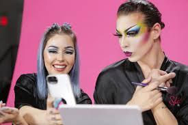sleek makeup s the glowdown challenges makeup artists and drag queens to pete allure