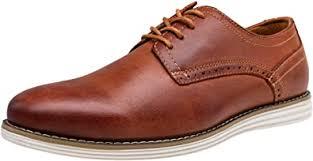 VOSTEY Men's Leather Dress Shoes Casual Oxford ... - Amazon.com