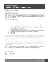 corporate annual meeting minutes sample template directors minutes template