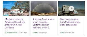 nipton sells itself to american green