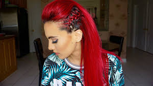 Mo Hock Hair Style braided faux hawk hair tutorial youtube 7812 by stevesalt.us