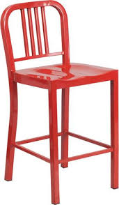 metal counter height stools. 24\u0027\u0027 Red Metal Counter Height Stool [CH-31200-24-RED Stools N