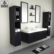 bathroom furniture sets.  Sets Bathroom Furniture 08 Set 3d Model  To Sets N