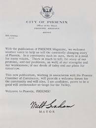 The Way We Were - PHOENIX magazine