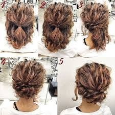 Wedding Hairstyles For Medium Hair 67 Inspiration Cute Easy Updos For Medium Length Hair Popular Hairstyles