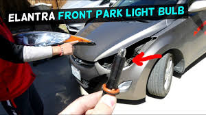 2012 Hyundai Elantra Running Light Bulb Hyundai Elantra Front Park Light Bulb Replacement 2011 2012 2013 2014 2015 2016