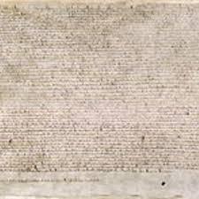 La Grande Charte 1215 Clio Texte