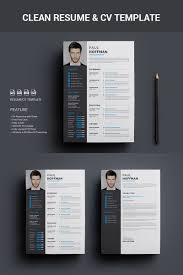 Resume Psd Template Free 100 Best 100's Creative ResumeCV Templates Printable DOC 2