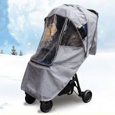Universal Warm Waterproof Snow Wind <b>Rain Cover Baby Stroller</b> ...
