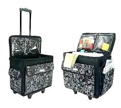 Sewing Machine Travel Case Wheels