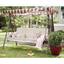 $198 Shop Garden Treasures Porch Swing at Lowes