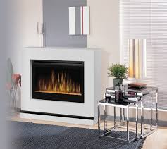 atlantis white wall or corner electric fireplace with glass embers bspc 3033g contemporary indoor fireplaces other by electric fireplaces direct