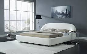 Mia Bedroom Furniture White Solid Wood Frame Mia Bed Online Creative Furniture