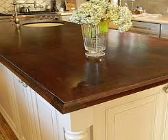wood countertop this distinction is important because it affects your choices on grain orientation which we ll discuss in a bit the right finish and the