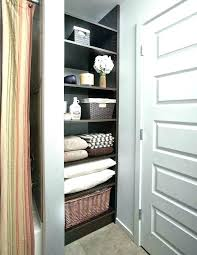 Bathroom Closet Organization Ideas New Bathroom Closet Ideas Small Master Bathroom With Closet Ideas