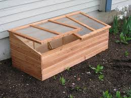 wooden cold frame