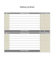 Walking Logs Printable Walking Log Sheet And Journal Printable Fitness Logs