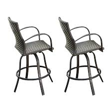 allen roth safford aluminum swivel patio bar height chairs. outdoor bar stools lowes stackable patio chairs greatroom company naples 2 count dora allen roth safford aluminum swivel height i