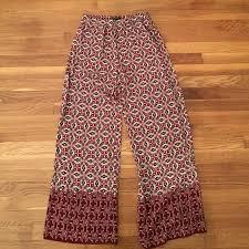 Patterned Flowy Pants