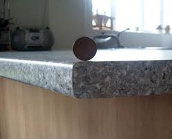 this kitchen worktop repair was undertaken