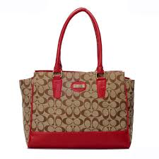 With High Quality And Unique Design, Coach Legacy Candace In Signature  Medium Red Satchels ARE